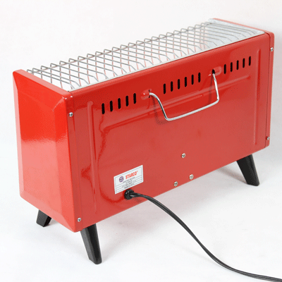 Quartz Tubes Room Heater with Fan