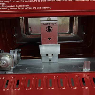 Dual Functional Indoor Gas Heater