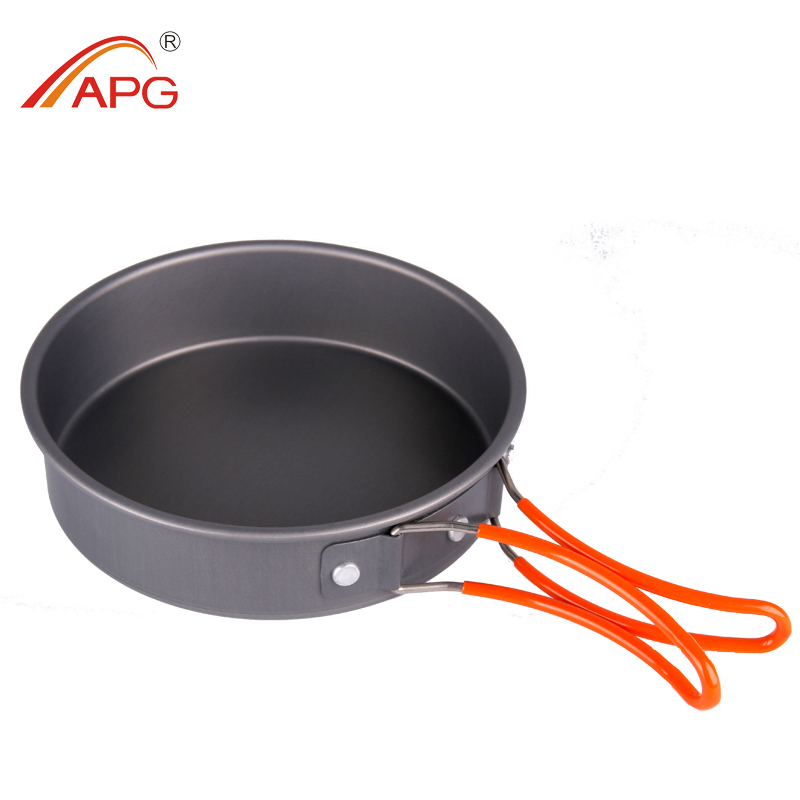 Camping Cookware Pans and Portable Camping Aluminum Cookware