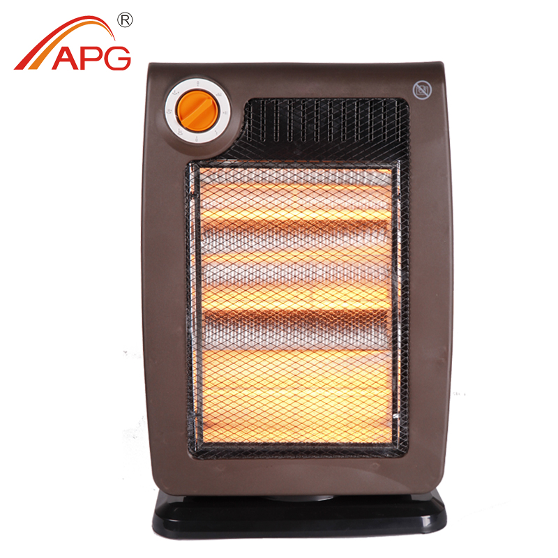 Halogen Heater with tip-over protection