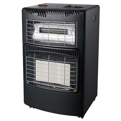 4.2KW/h Electric&Gas heaters