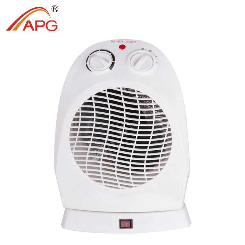 APG Electric Fan Heater and Electric Radiator Fan with tip-over protection
