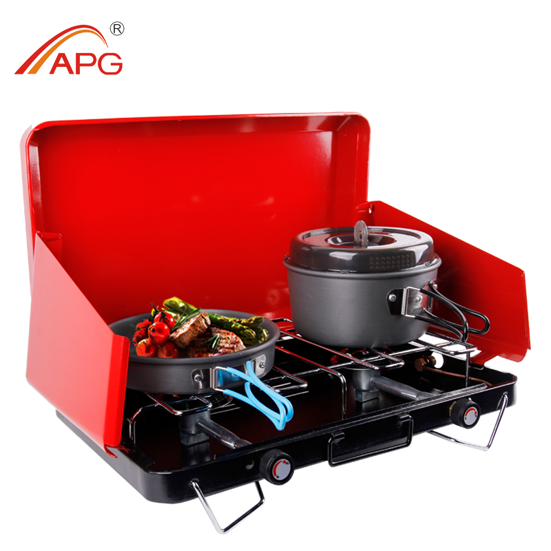 Two burner gas barbecue grill outdoor bbq grill barbecue machine