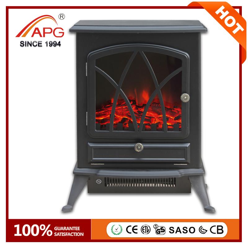 Artificial Freestanding Wooden Wood Fireplace