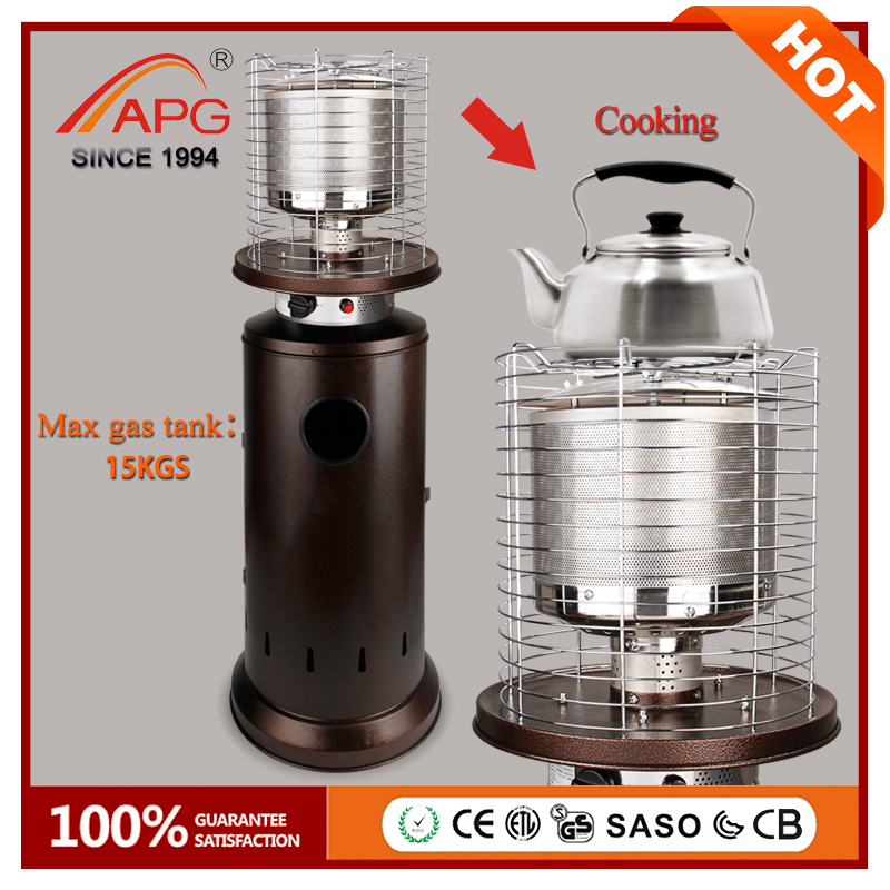 2017 APG New Outdoor Patio Gas Heater